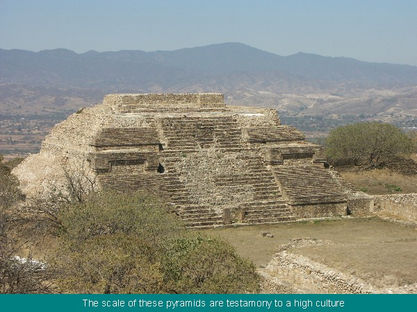 Monte Alban temples